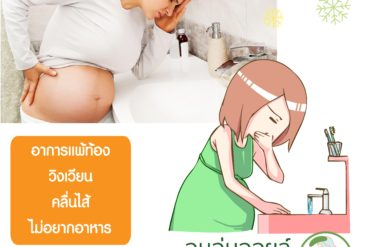 วิธีการรับมือสำหรับคุณแม่แพ้ท้อง